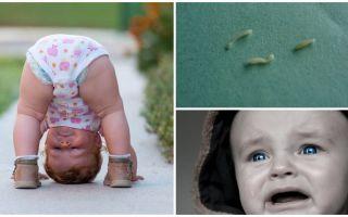 Sintomi e trattamento di ossiuri in un bambino