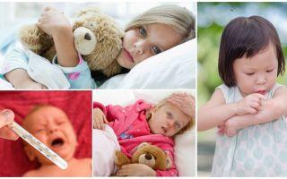 La temperatura delle punture di zanzara negli adulti e nei bambini