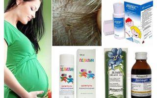 Come curare la pediculosi durante la gravidanza e l'allattamento