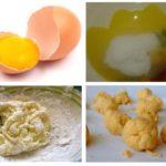 Acido borico e tuorli d'uovo