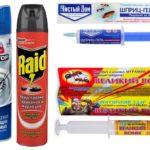 Gel e spray per insetti