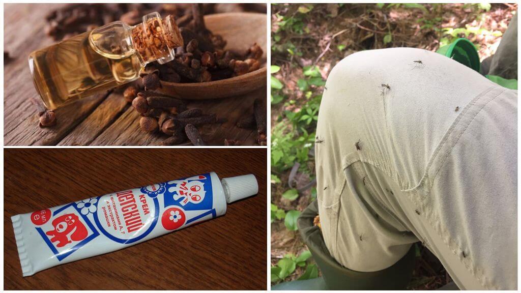 Crema di zanzare con olio di chiodi di garofano