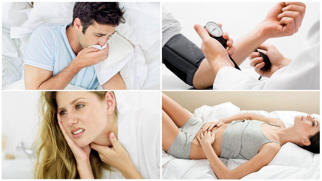I sintomi della malattia dopo essere stati morsi da un segno di spunta infetto